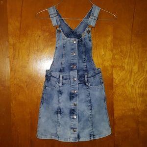 Jordache Overall Dress/Skirt Size S/CH 6/6X